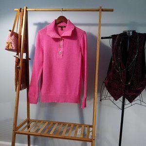Cotton Lauren Ralph Lauren Pink Sweater Size XL